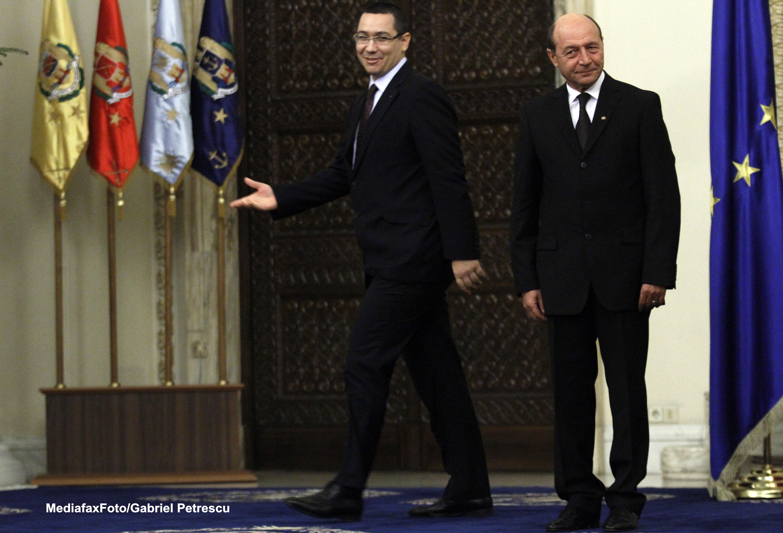 Ponta: Il astept pe Basescu sa spuna adevarul in Parlament despre reuniunea JAI pentru Schengen