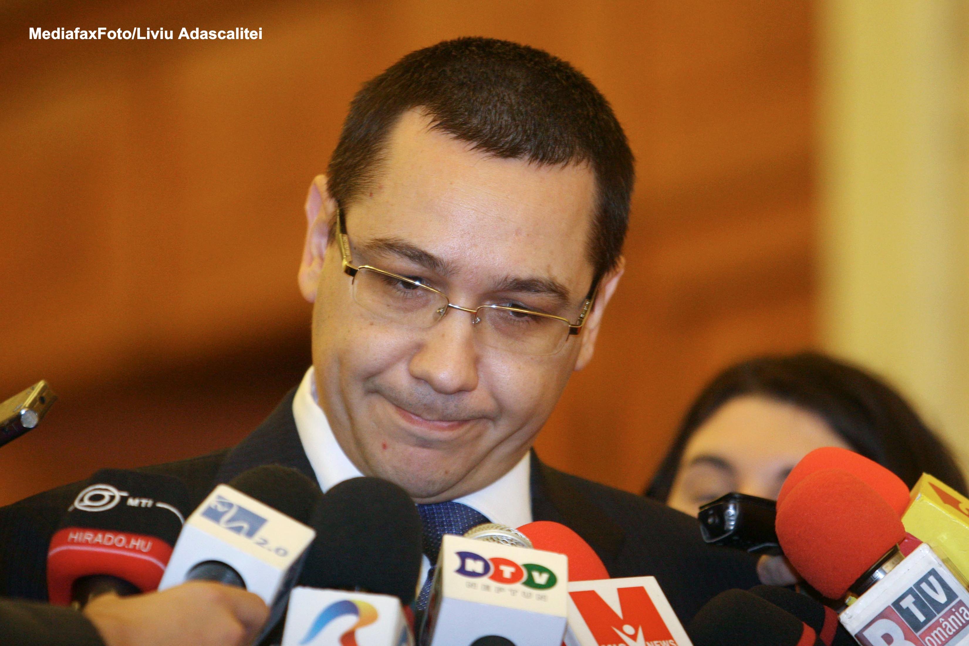 Premierul Victor Ponta anunta ca il va demite pe directorul ANSVSA, Mihai Turcanu