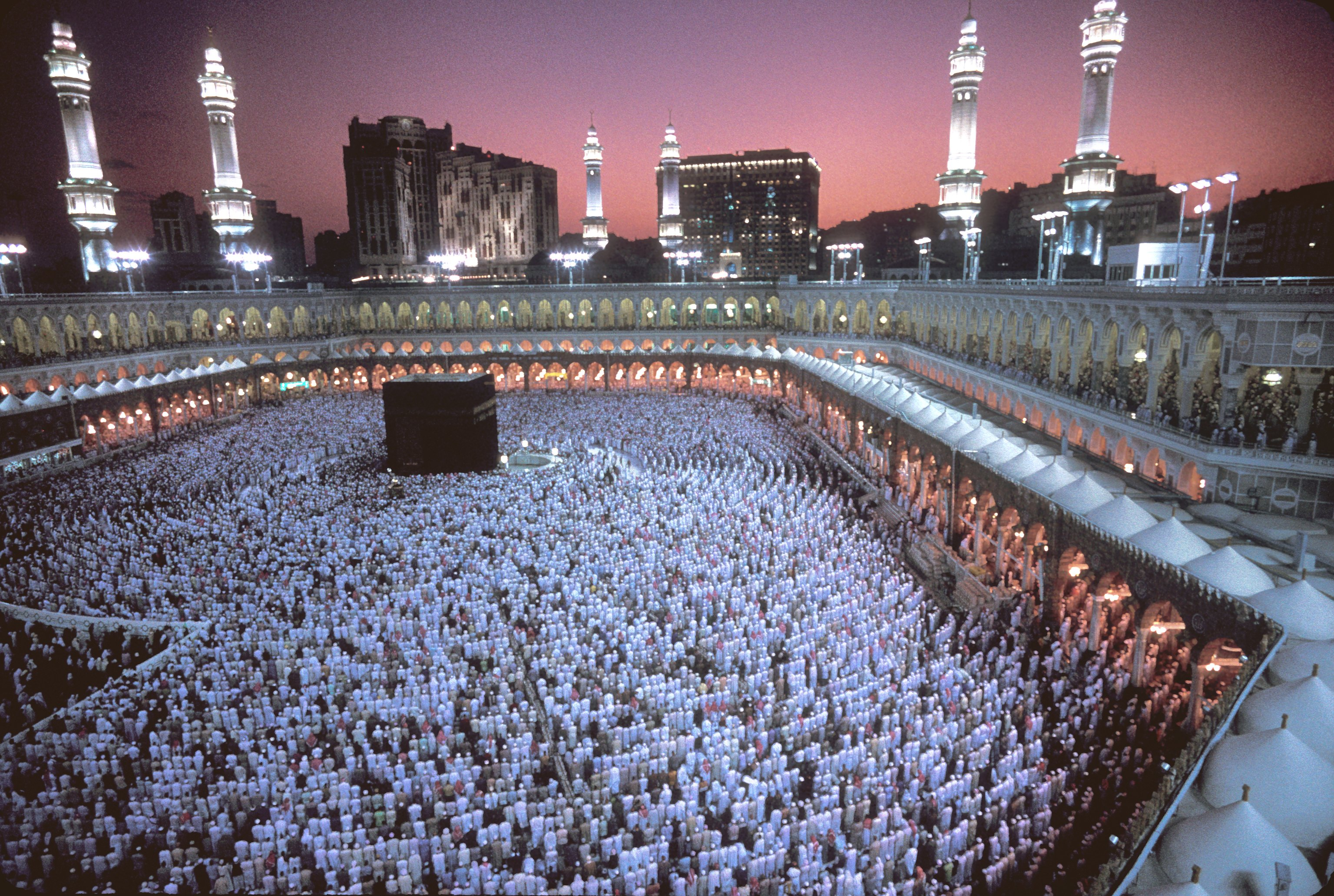 Independent: Imaginile de la Mecca pe care Arabia Saudita vrea ca nimeni sa nu le vada