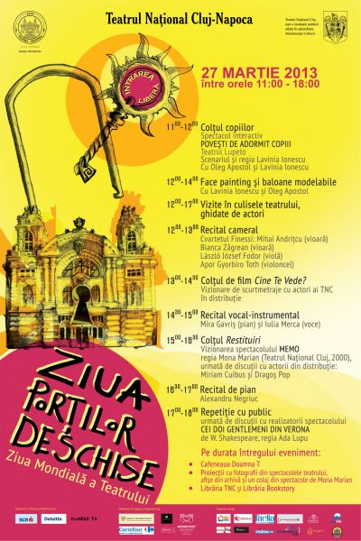 Ziua Portilor Deschise la Teatrul National Cluj-Napoca