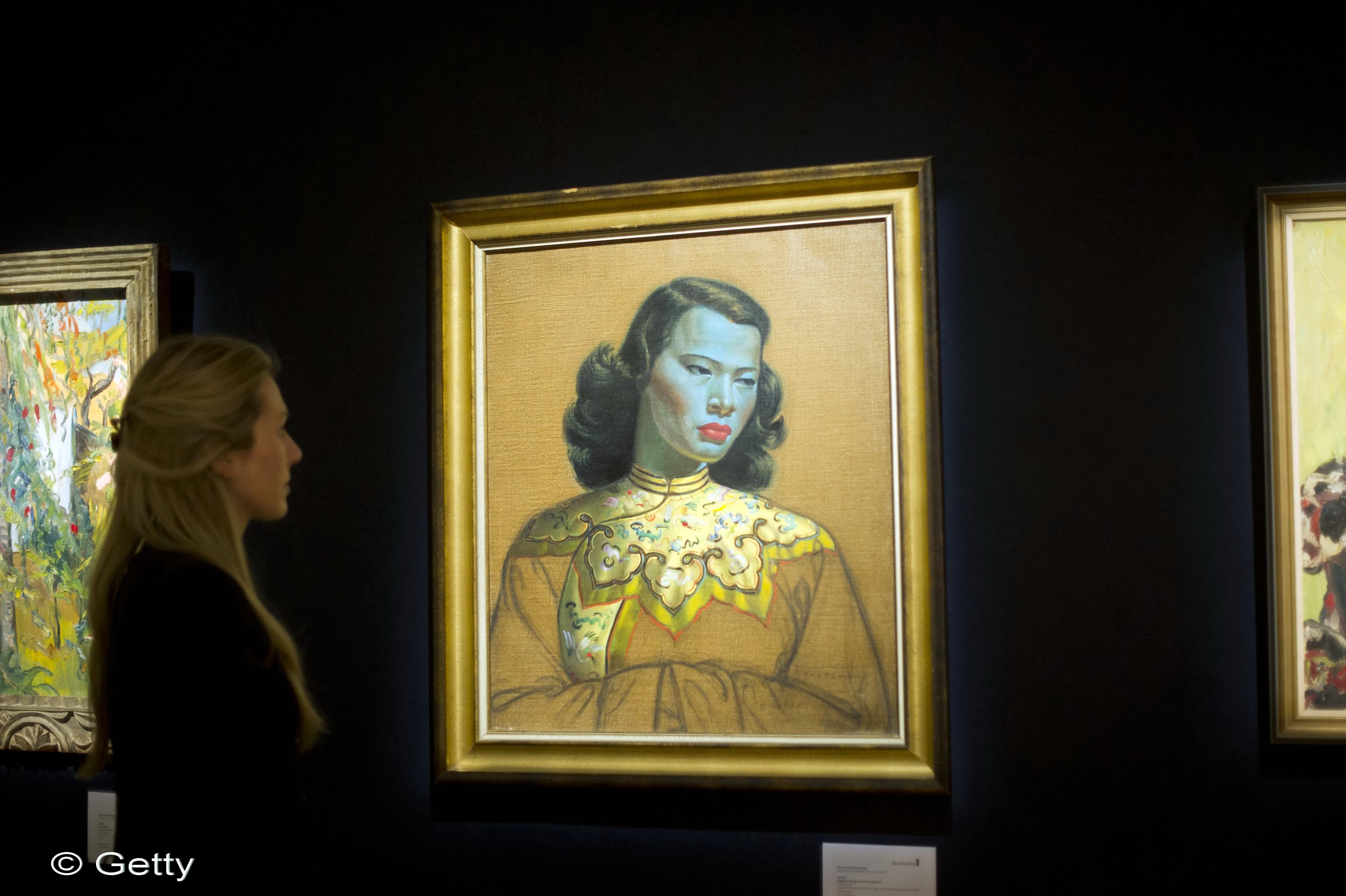 Ea e Mona Lisa kitsch-ului: cel mai reprodus tablou din lume, vandut cu 1,1 milioane de euro