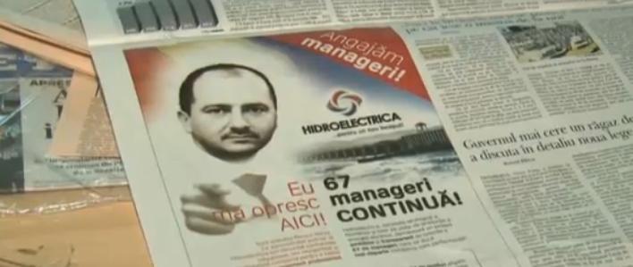 A inceput campania de recrutare a managerilor privati pentru Hidroelectrica. Ce salarii vor avea
