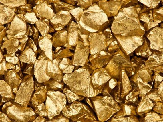 Pretul aurului a ajuns la minimul ultimilor trei ani, dupa decizia Fed privind achizitiile de active