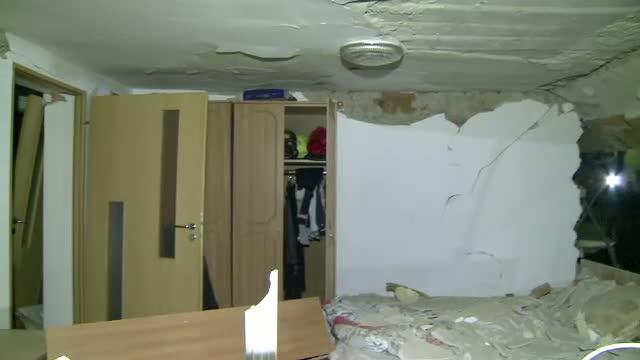 Explozie intr-un bloc din Floresti. 16 apartamente au fost distruse si 6 autoturisme avariate