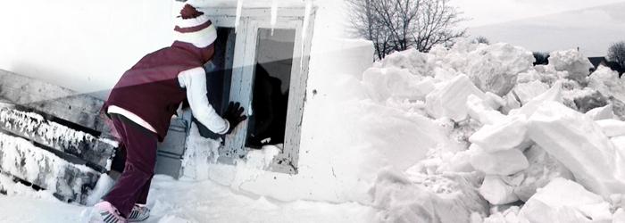 Nordul Moldovei, sub ZAPADA. Zeci de oameni au ramas izolati in nameti