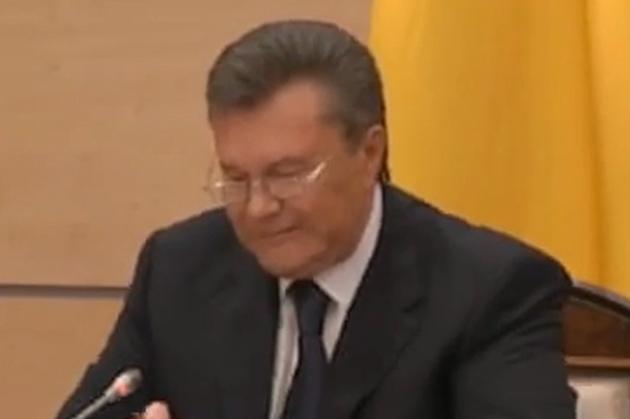 Viktor Ianukovici: Pierderea Crimeii este efectul