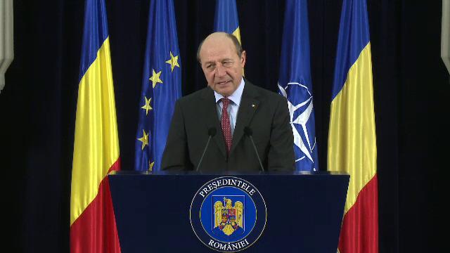Reactia lui Traian Basescu, dupa protestul din Targu Mures: