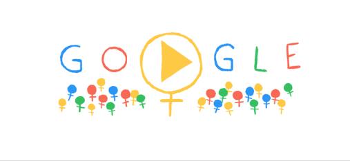 Ziua Internationala a Femeii, sarbatorita cu un Google Doodle. Surpriza de 8 MARTIE pentru doamne si domnisoare
