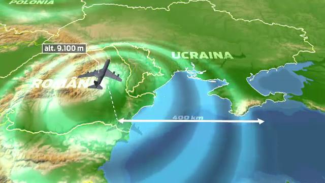 NATO vrea sa supravegheze spatiul aerian invecinat Ucrainei. Avioane AWACS vor fi trimise deasupra Romaniei si Poloniei