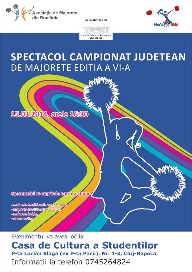 Campionat Judetean de Majorete la Cluj-Napoca