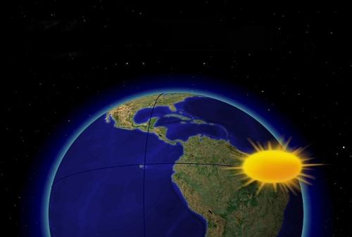 PRIMA ZI A PRIMAVERII. Google sarbatoreste echinoctiul de primavara, prima zi de primavara astronomica, printr-un Doodle