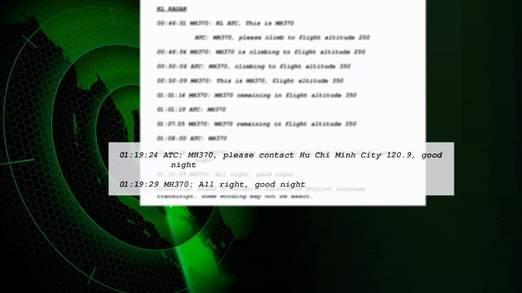 Avionul disparut. Transcriptul celor 54 de minute de conversatii intre piloti si turnul de control publicat de The Telegraph