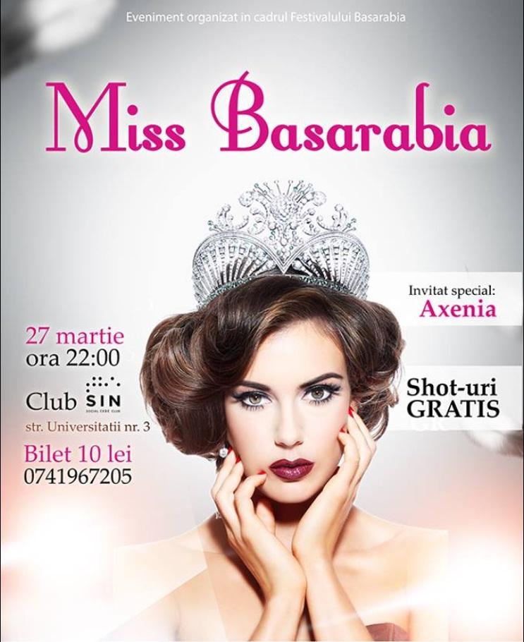 Miss Basarabia se alege la Cluj-Napoca