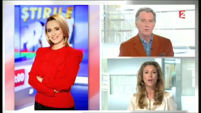 Interviu-portret cu Andreea Esca la postul de televiziune France 2: