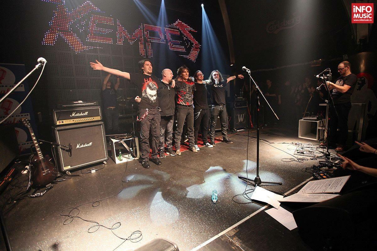 Concert Kempes. Fostul solist vocal de la Cargo isi lanseaza primul sau album solo,