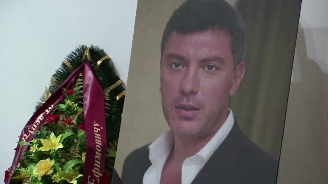 Post de televiziune rus: Politistii au reusit sa obtina FOTOGRAFII cu presupusii asasini ai lui Boris Nemtov