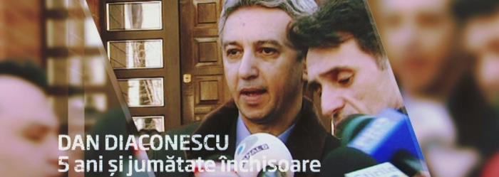 Dan Diaconescu a fost condamnat la 5 ani si 6 luni de inchisoare.
