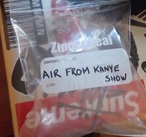 Cea mai ciudata licitatie de pe internet. O punga de aer se vinde cu 60.000 de dolari pe eBay