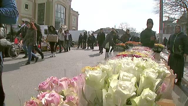 De la nemultumire, la bucurie, in doar o saptamana. Vanzatorii de flori au realizat profituri uriase pe 8 martie