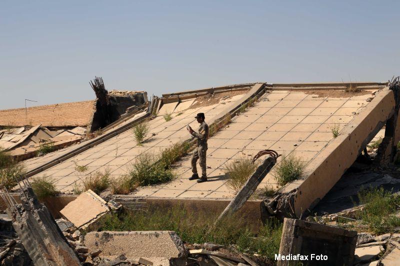 Mormantul lui Saddam Hussein, distrus in luptele dintre Statul Islamic si fortele irakiene