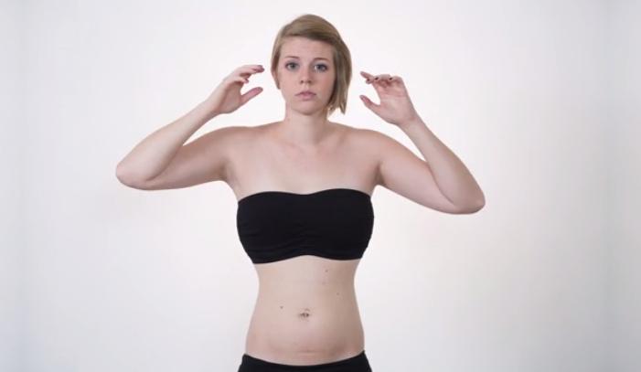 O studenta si-a modificat corpul in Photoshop pana cand nici ea nu s-a mai recunoscut. Gestul a atras doar cuvinte de lauda