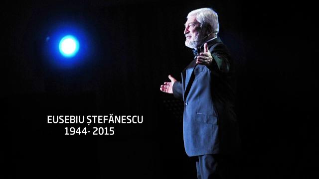 Actorul Eusebiu Stefanescu, inmormantat pe Aleea Artistilor din Cimitirul Bellu