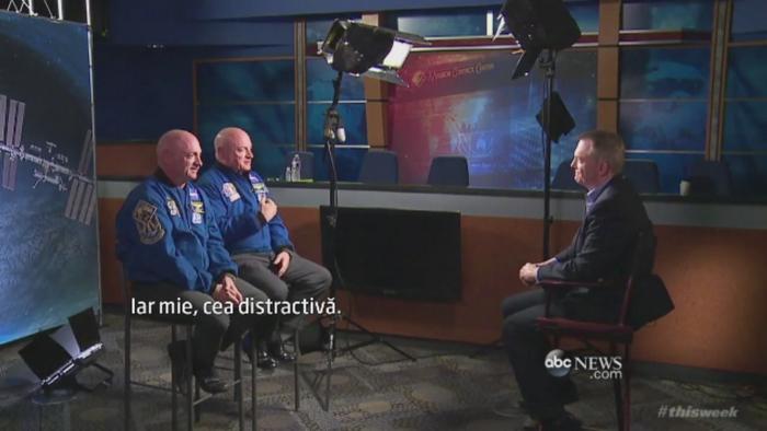 Experiment NASA cu doi astronauti, frati gemeni. Specialistii vor studia modificarile care apar in timpul vietii in spatiu