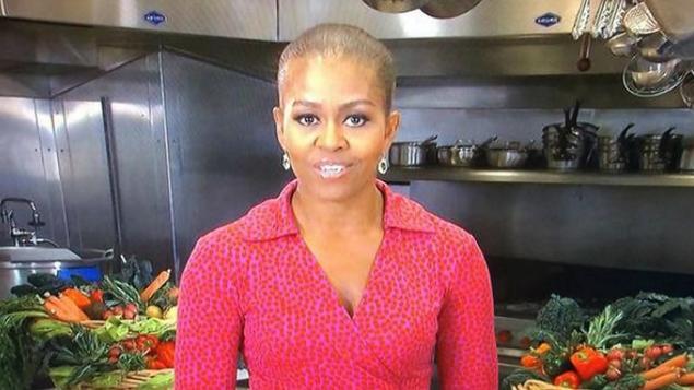 Cum a aparut Michelle Obama la o emisiune din SUA. Prima Doamna a dat nastere unei isterii totale
