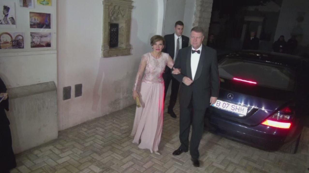 Principesa Margareta si-a sarbatorit ziua de nastere la Castelul Peles. Klaus Iohannis si Prima Doamna, printre invitati