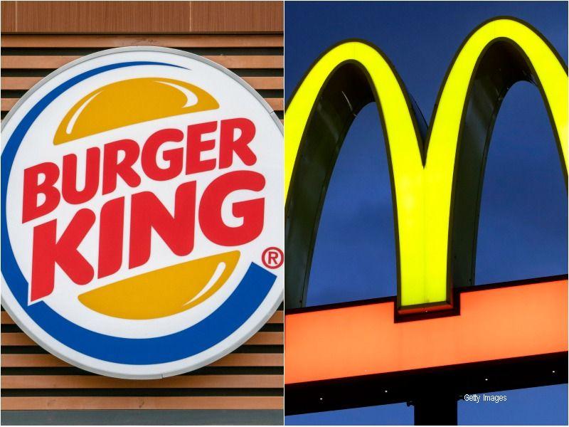 Rivalitatea dintre doi giganti din industria alimentara. Reclama in care Burger King se razbuna pe o campanie McDonald's
