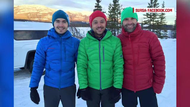 Cei 3 ultramaratonisti romani au pornit cu incredere spre banchiza Oceanului Arctic.