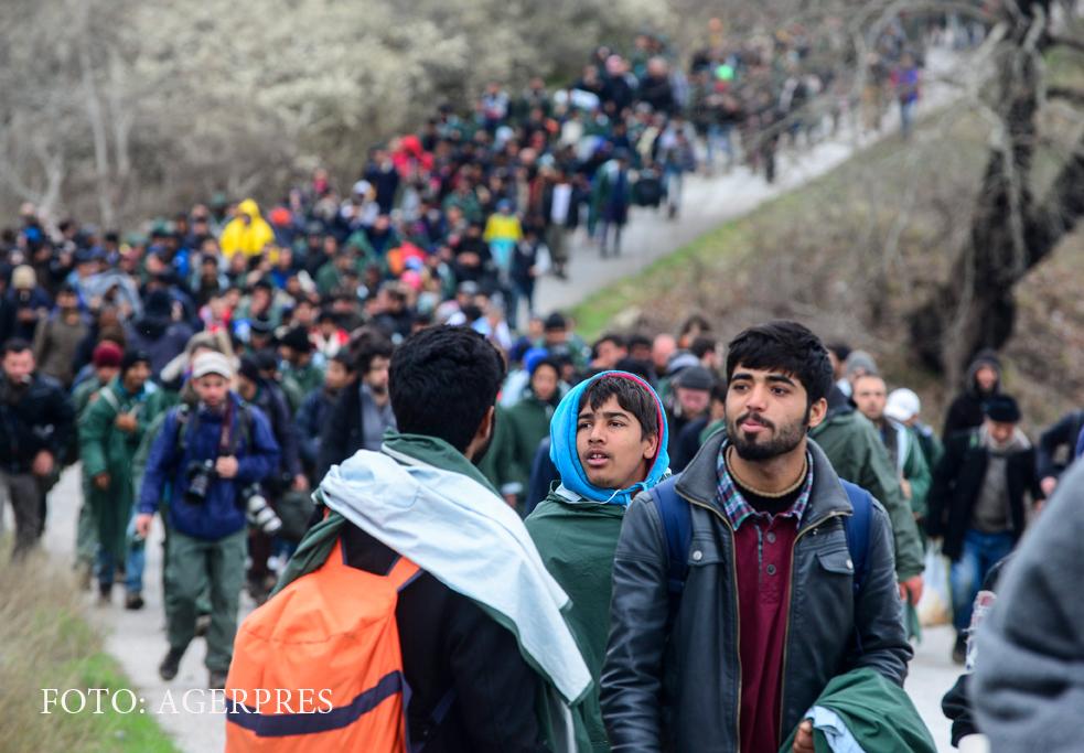 Un nou val de refugiaţi sirieni ar putea ajunge în Europa. Avertismentul liderilor UE