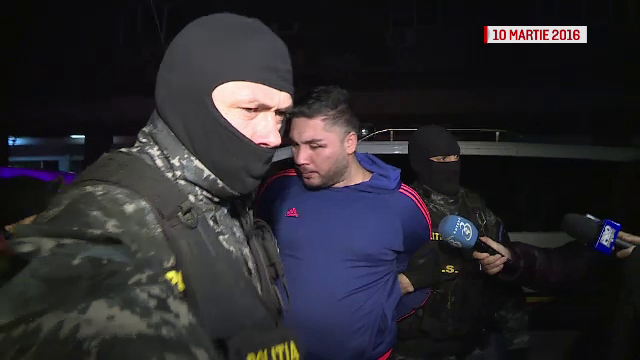 Evadatul Renato Tulli, prins dupa 4 zile de politisti, banuit ca a participat la unul dintre cele mai rasunatoare jafuri
