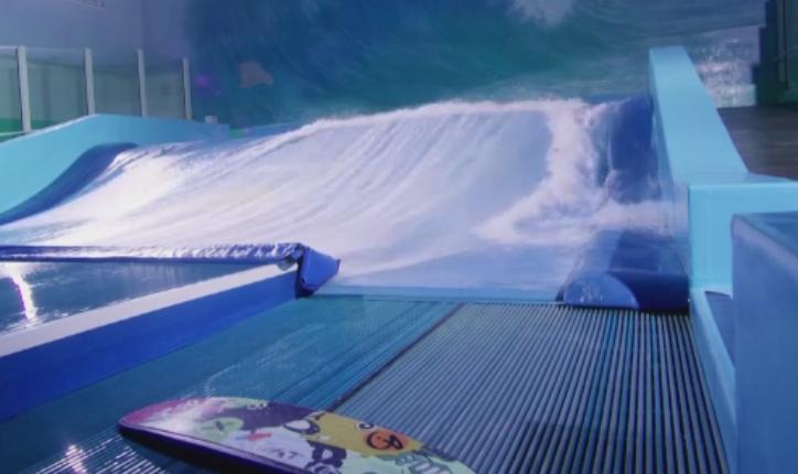 Surf indoor si tunel de vant, la Chitila. Trei romani si un francez le pregatesc o surpriza pasionatilor de senzatii tari