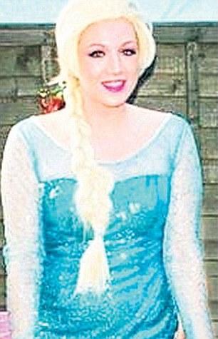 Viata dubla a unei tinere care ziua o intruchipeaza pe Elsa, la petreceri pentru copii. Cand s-a aflat, a izbucnit scandalul