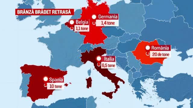 Ciolos atentioneaza Italia, in cazul alertei alimentare despre branza cu E.coli. Romania a facut insa o greseala si mai mare