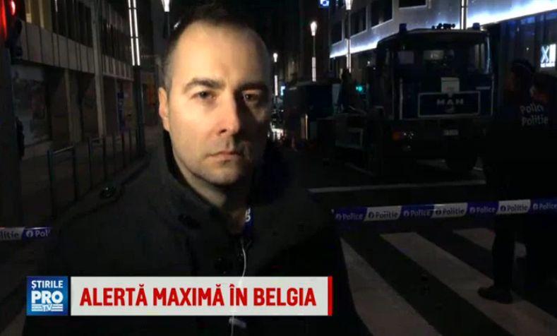 Din Bruxelles, corespondentul ProTV Rares Nastase: