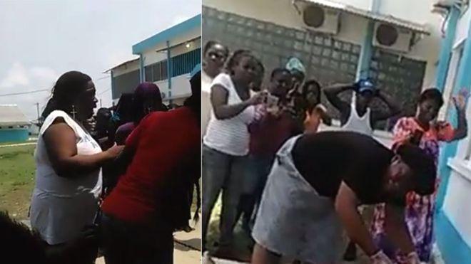 Interventia socanta facuta de rudele unei gravide moarte, pentru salvarea copiilor, dupa ce medicii au refuzat ajutorul VIDEO