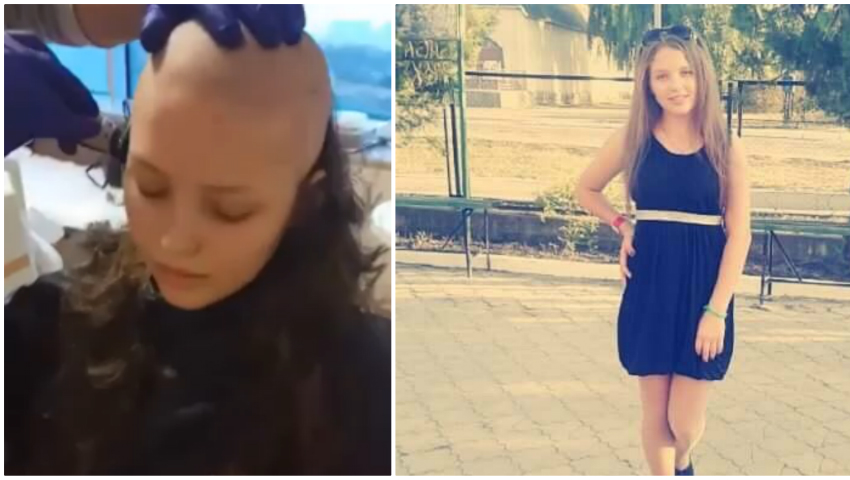 Adriana Proca, o adolescenta de 15 ani, sufera de leucemie limfoblastica acuta si are nevoie de tratament. Cum puteti dona