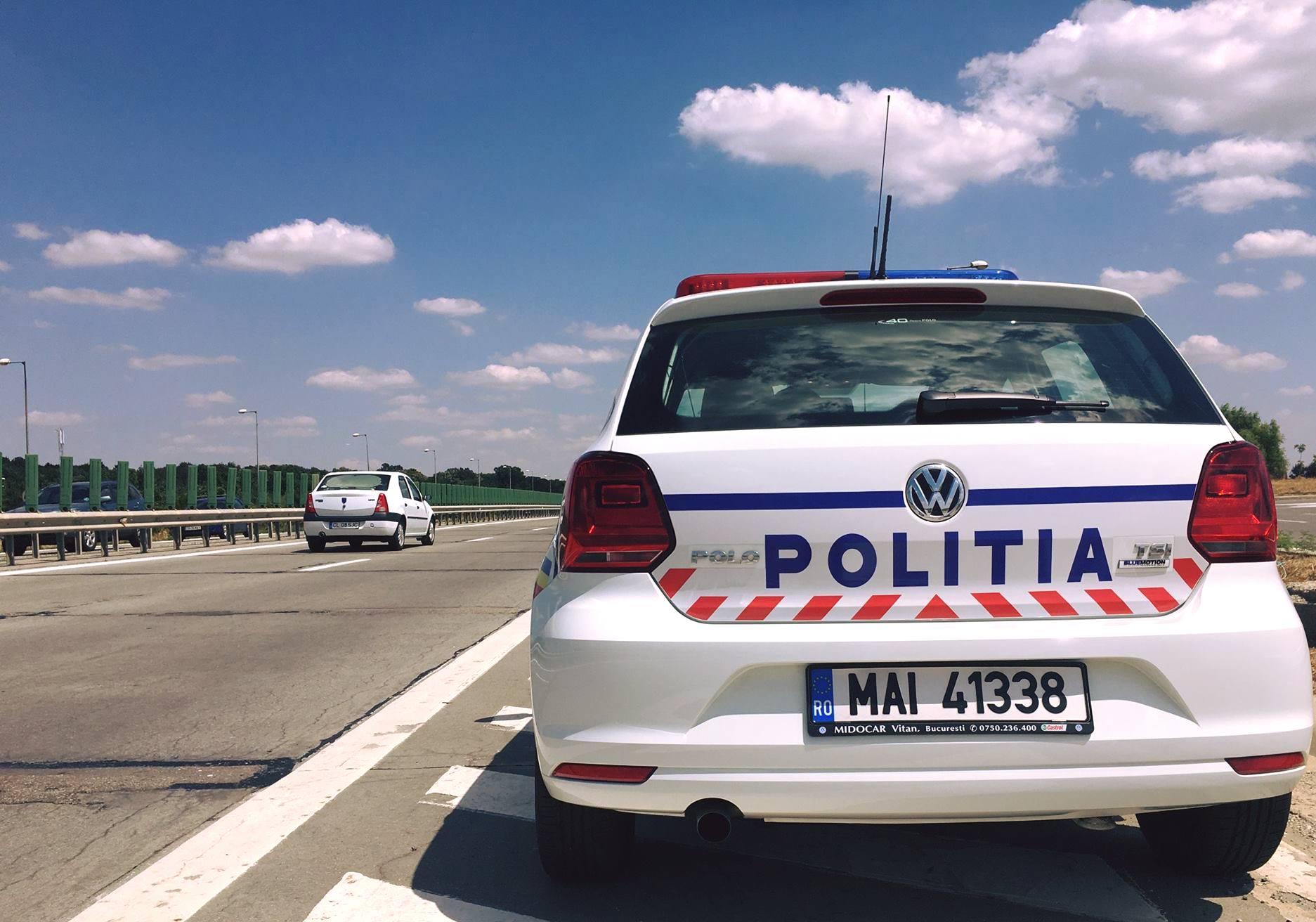 Sofer prins de politisti in timp ce conducea cu 226 kilometri la ora, pe Autostrada A1