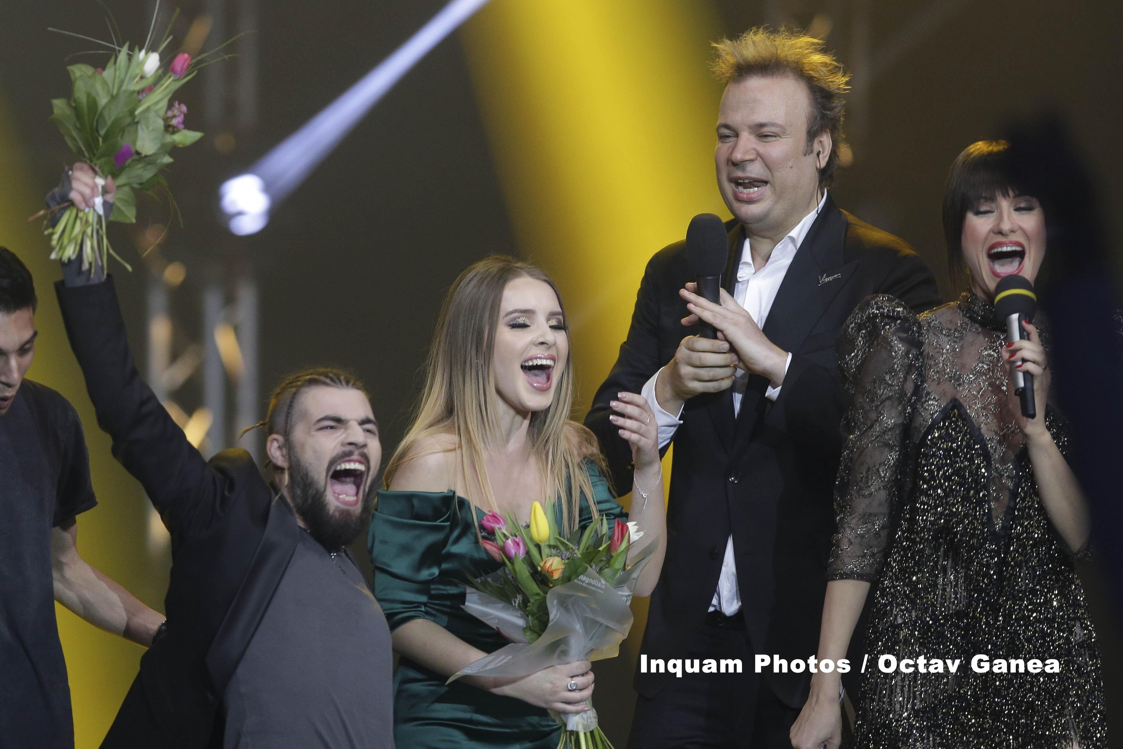 EUROVISION 2017. Ilinca si Alex Florea reprezinta Romania la Kiev: