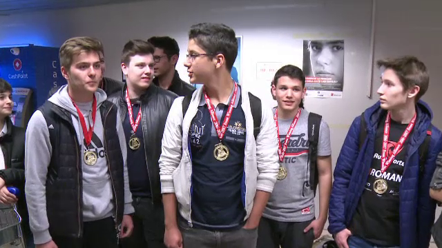 Elevi din Bucuresti, pe primul loc la una dintre cele mai importante competitii de robotica din lume: