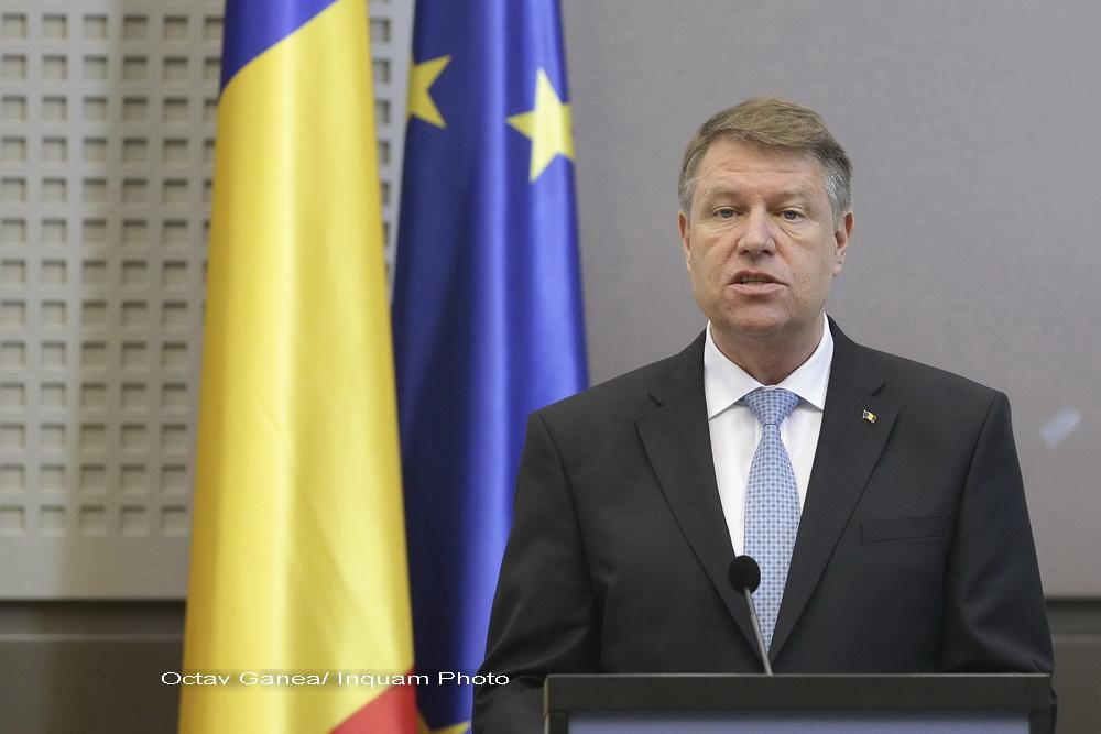 Klaus Iohannis, inainte de plecarea la Bruxelles, la Consiliul European: