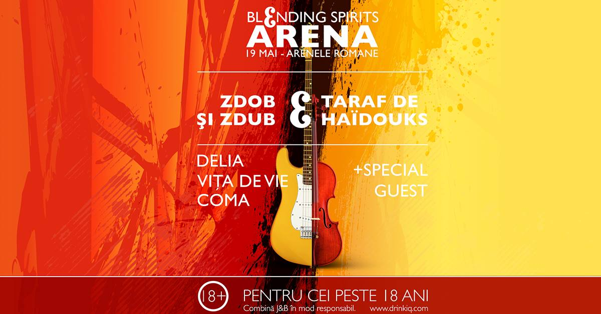 Delia, Vita de Vie, COMA, Zdob si Zdub si Taraf de Haidouks, in concert pe 19 mai, la Arenele Romane