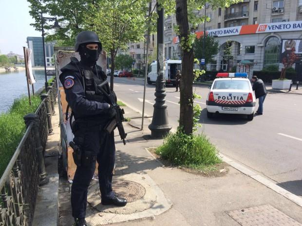 Alerta in Capitala, dupa ce un bagaj suspect a fost abandonat langa Ambasada Israelului. Ce au descoperit pirotehnistii