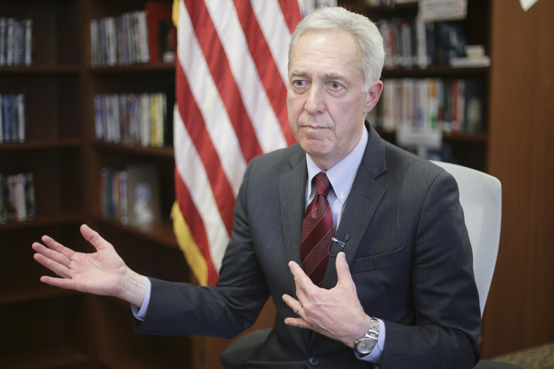 Ambasadorul SUA, Hans Klemm, in vizita la ministrul Justitiei: