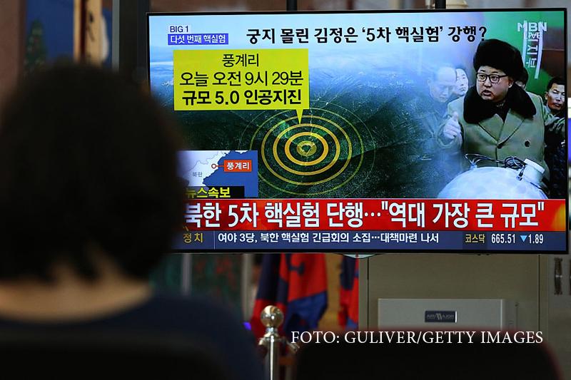 Coreea de Nord pregateste un nou test cu rachete nucleare. Statele Unite ameninta cu invazia militara daca testele continua