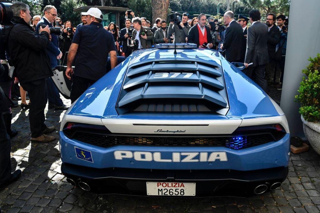 Lamborghini Huracan, noua achizitie a Politiei italiane. In ce scopuri va fi folosit