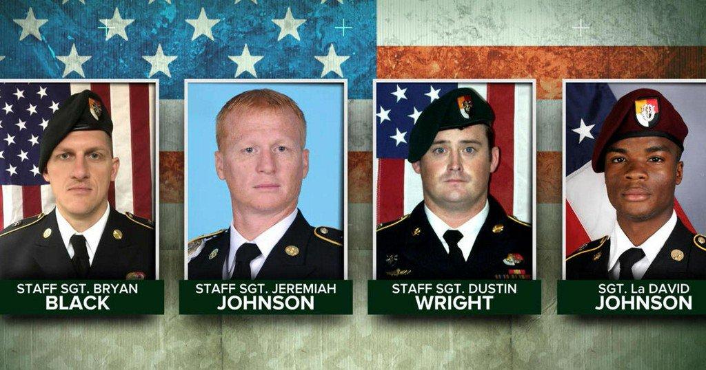 Înregistrare difuzată de ISIS cu momentul uciderii a patru militari americani
