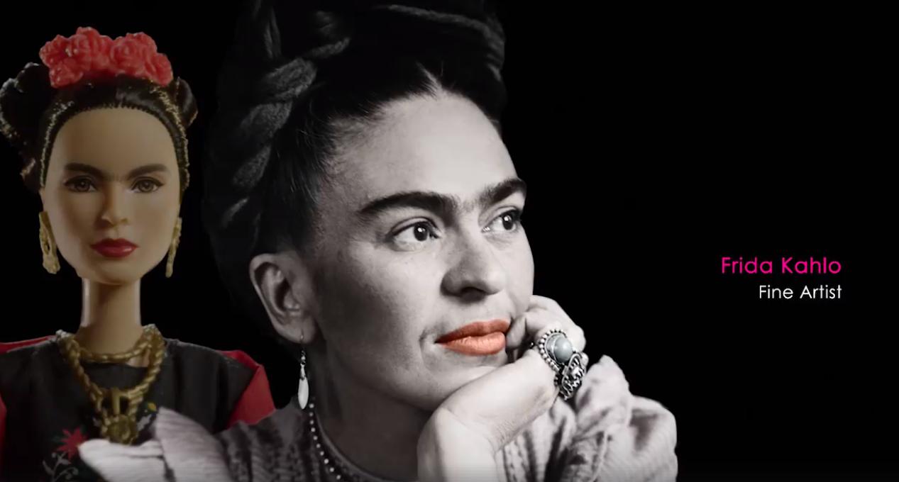 Frida Kahlo, printre femeile influente comemorate de compania producătoare a păpușilor Barbie